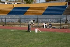 estadio landoni reparacion