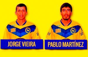 Dos autores de goles